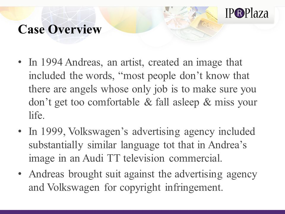 The Arguments Volkswagen's Arguments: The profit during this period was attributable to factors other than the infringing language.