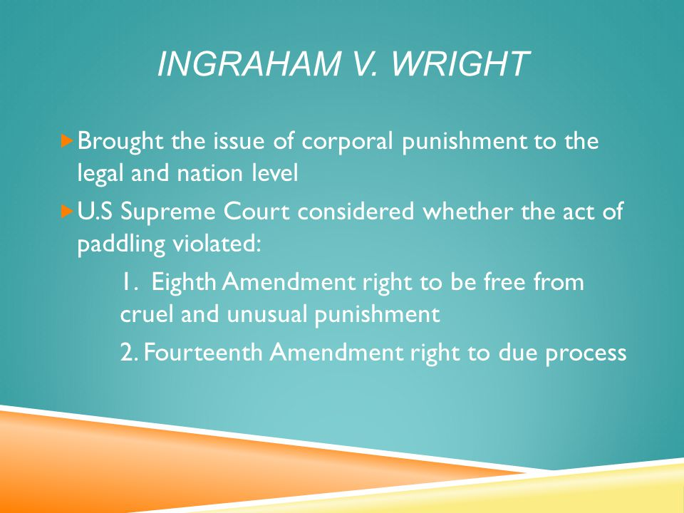 INGRAHAM V.