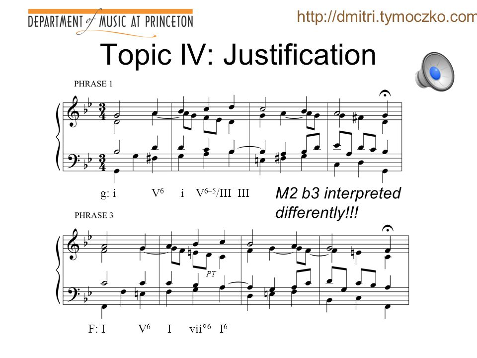 Topic IV: Justification So what is the force of ii-I is rare .