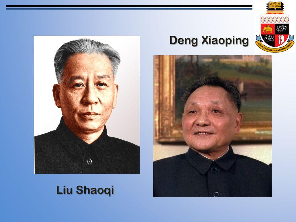 Liu Shaoqi Deng Xiaoping