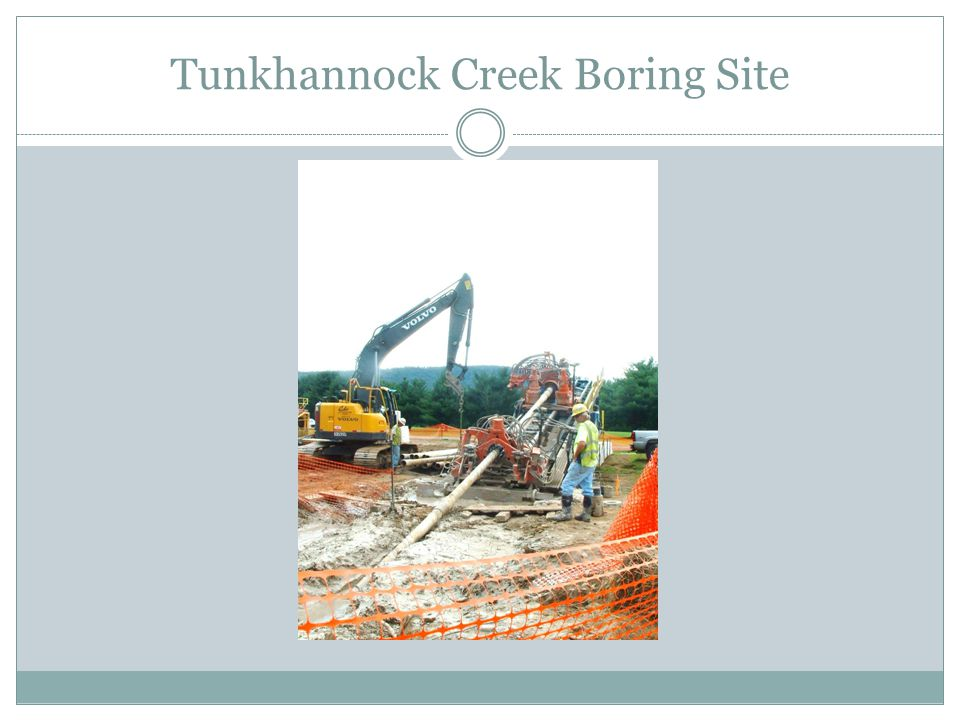 Tunkhannock Creek Boring Site