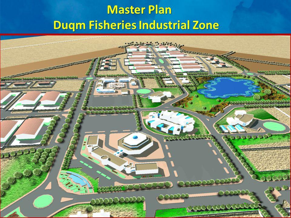 Master Plan Master Plan Duqm Fisheries Industrial Zone