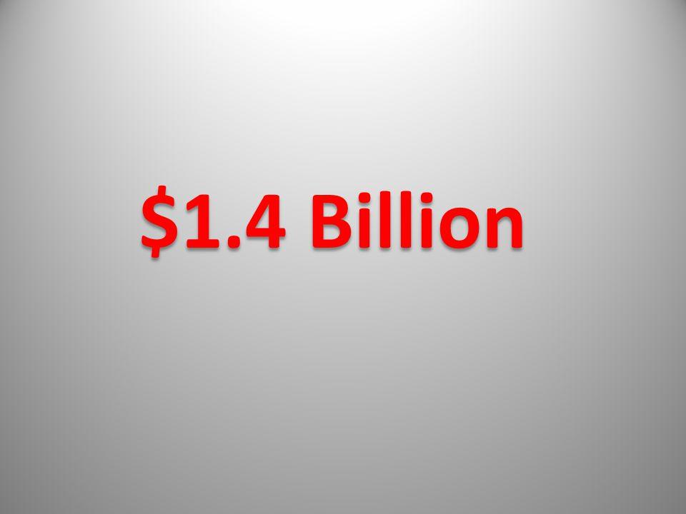 $1.4 Billion