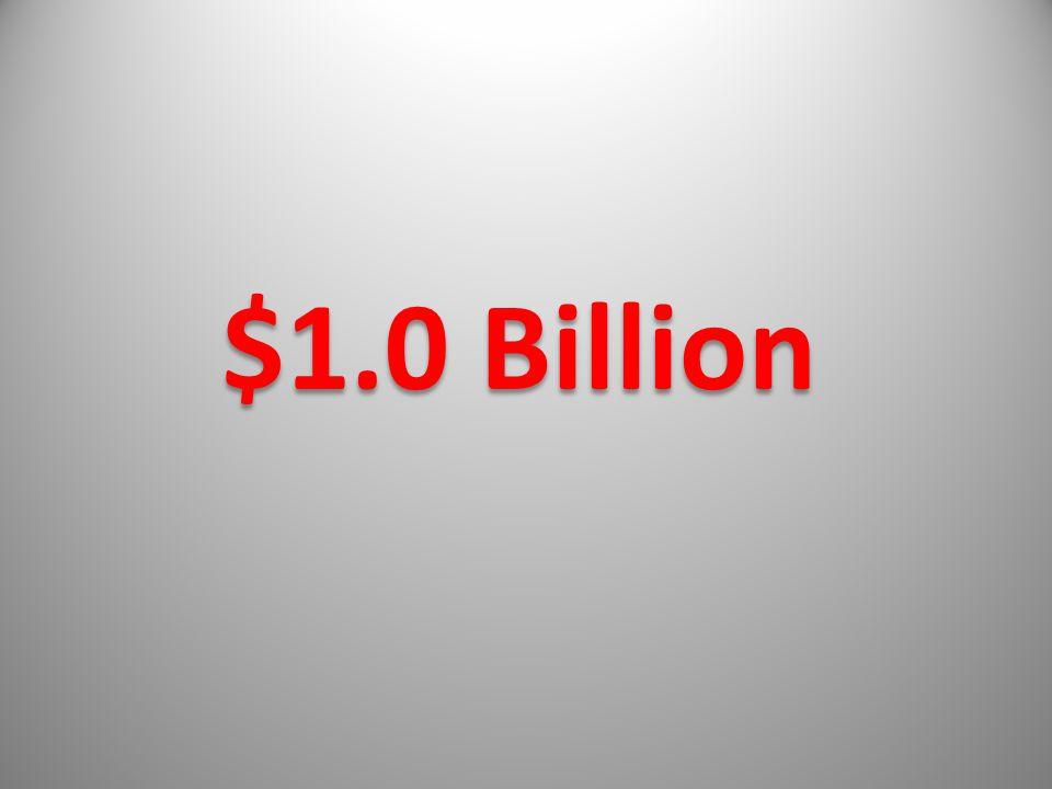 $1.0 Billion
