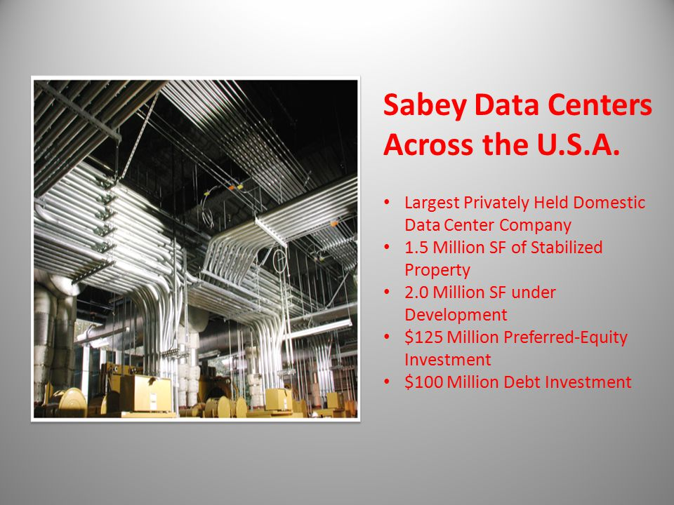 Sabey Data Centers Across the U.S.A.