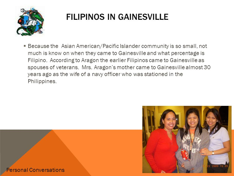 PAGASA  PAGASA was established in 1994 and means hope  the acronym is Pilipino American Association of Gainesville and Surrounding Areas.