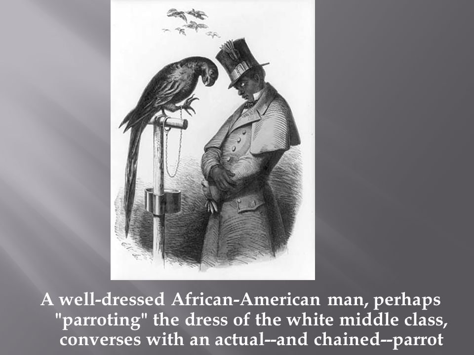 A well-dressed African-American man, perhaps