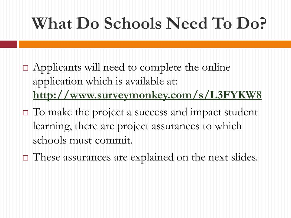 What Do Schools Need To Do.