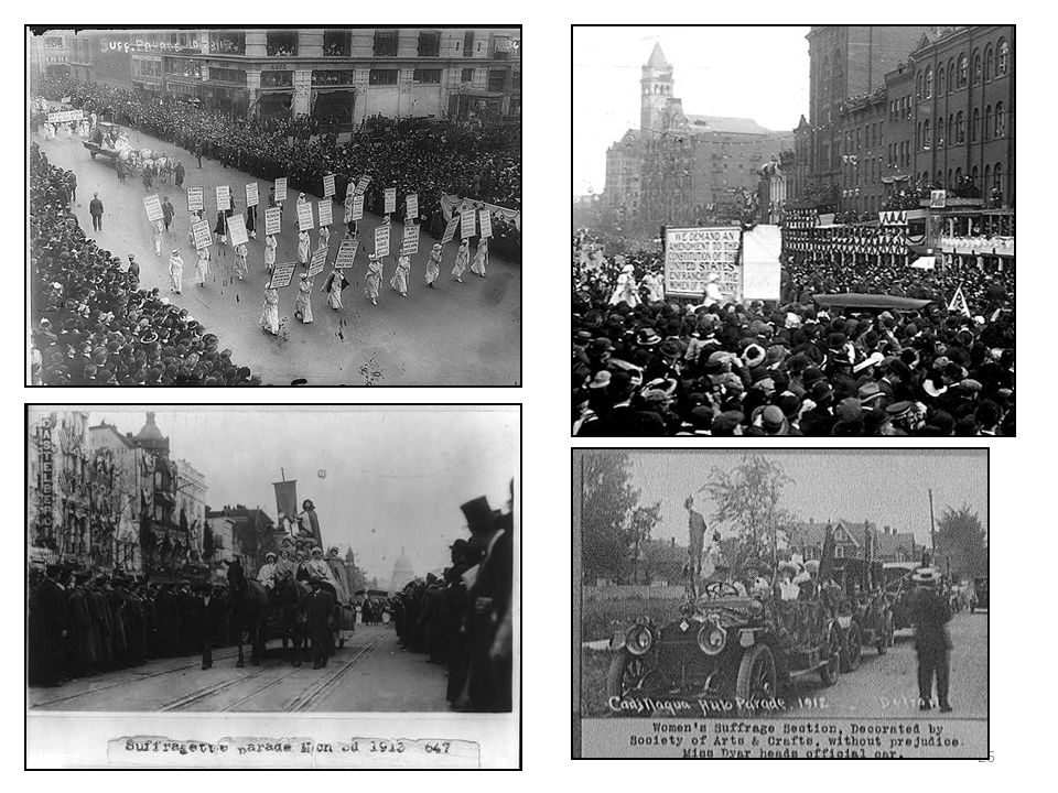 25 On Monday, March 3, 1913, clad in a white cape astride a white horse, lawyer Inez Milholland led the great woman suffrage parade down Pennsylvania Avenue in the nation s capital.