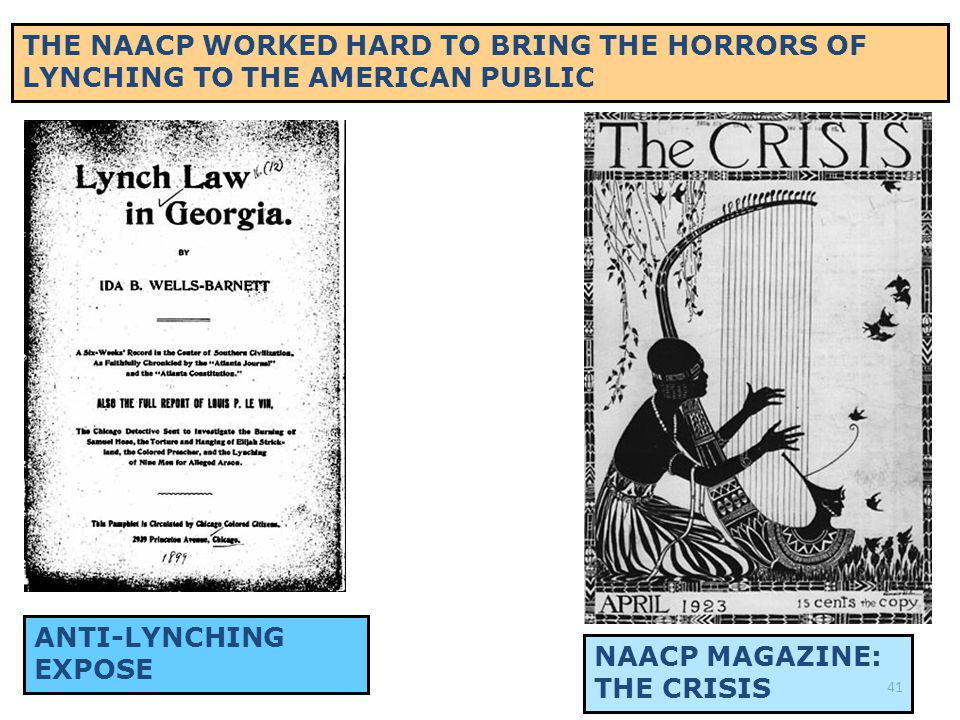 40 IN 1915, THE NAACP UNDERTOOK A CAMPAIGN AGAINST THE IMMENSELY POPULAR D.W.