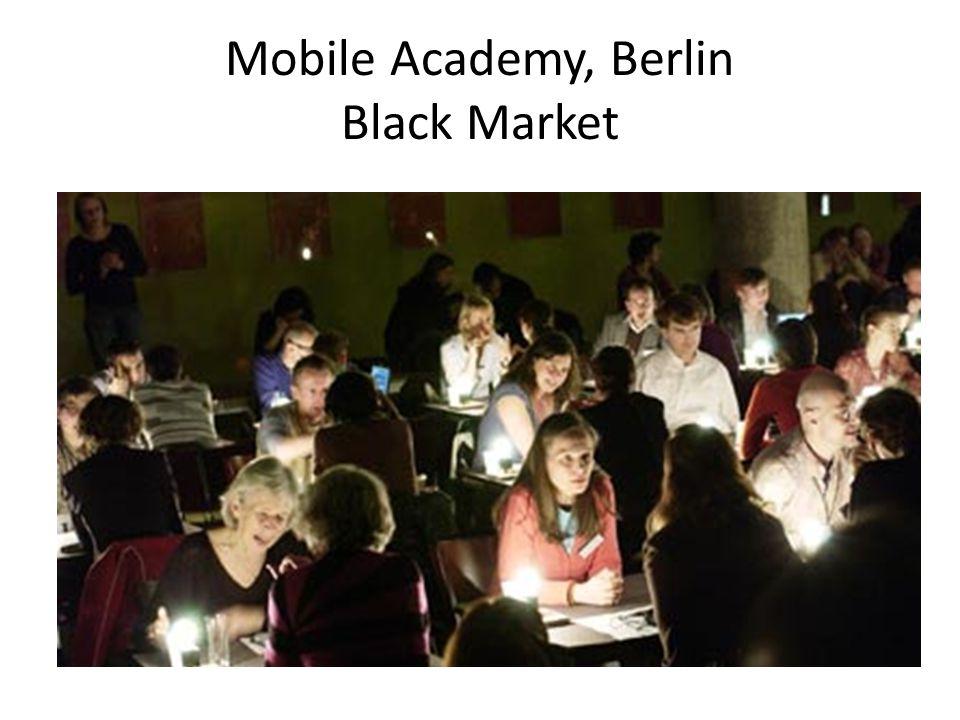 Mobile Academy, Berlin Black Market