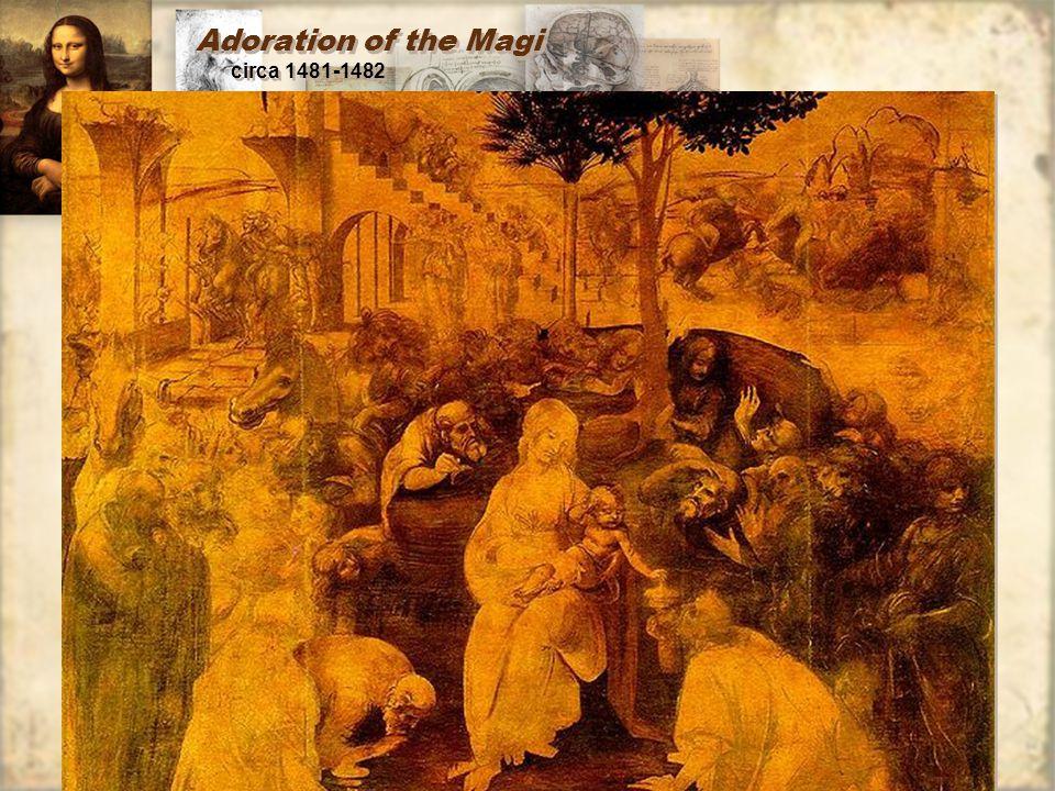 Adoration of the Magi circa 1481-1482