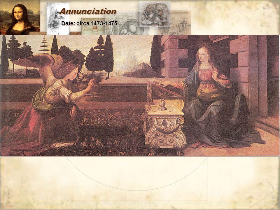 Annunciation Date: circa 1473-1475