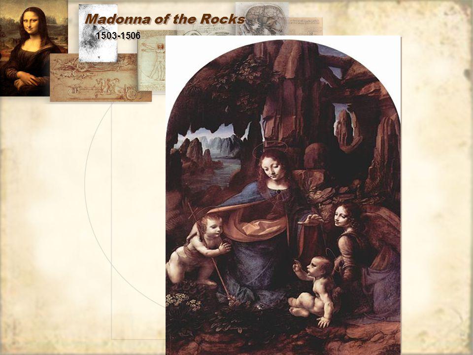 Madonna of the Rocks 1503-1506
