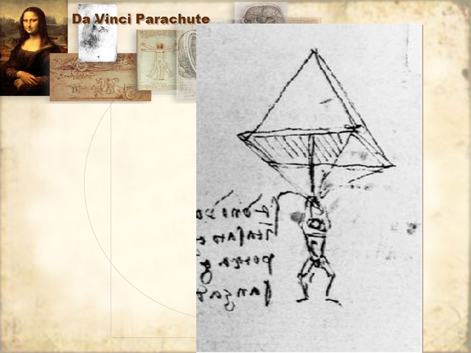 Da Vinci Parachute