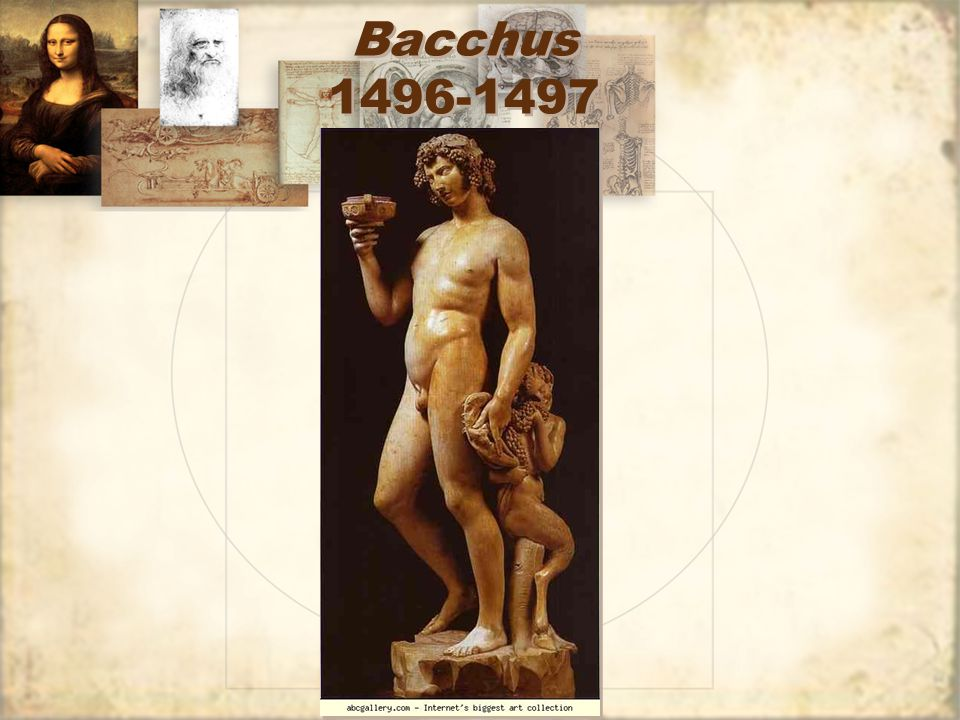 Bacchus 1496-1497