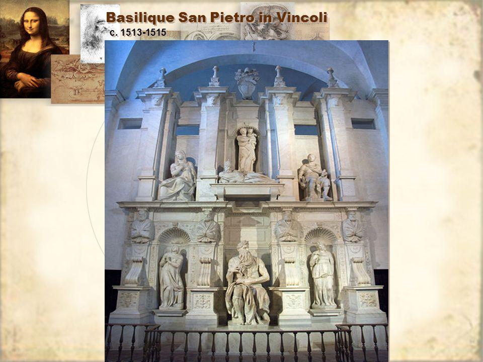 Basilique San Pietro in Vincoli c. 1513-1515