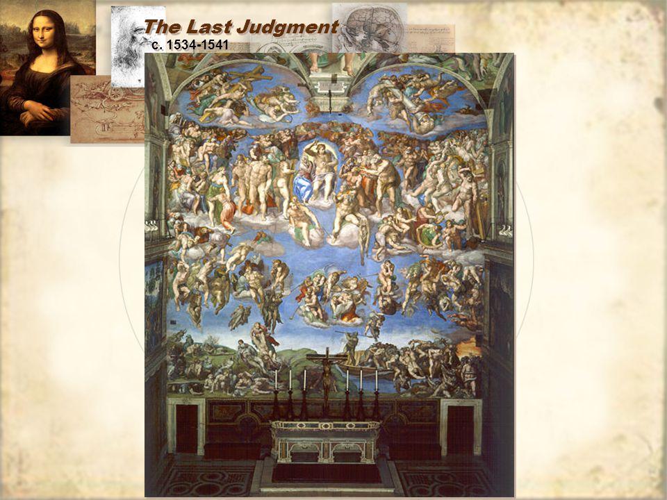 The Last Judgment c. 1534-1541