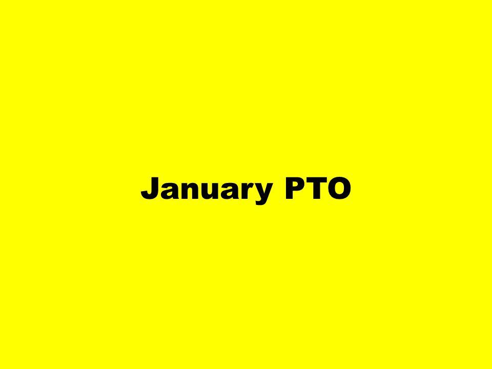 January PTO