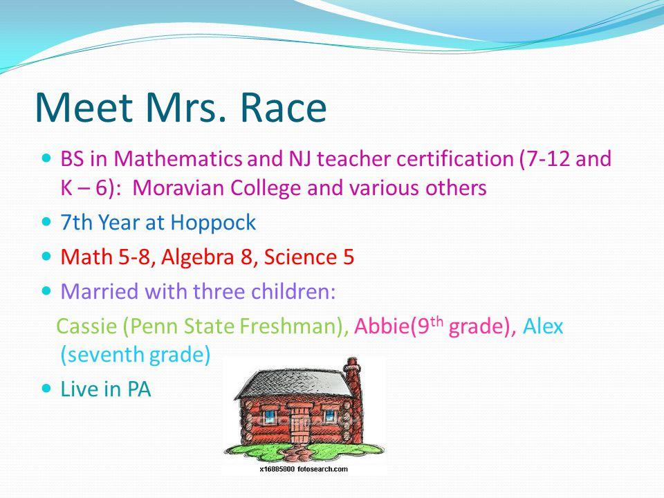 Tammie Race Math Instructor Ethel Hoppock Middle School