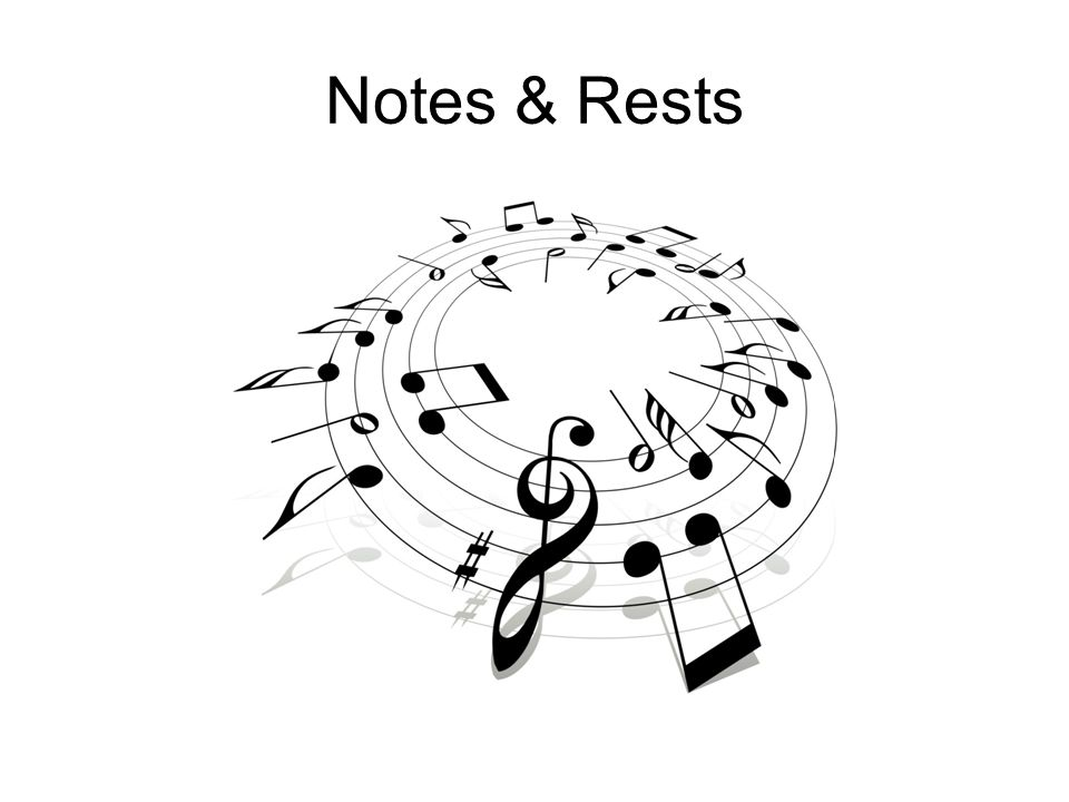 Notes & Rests