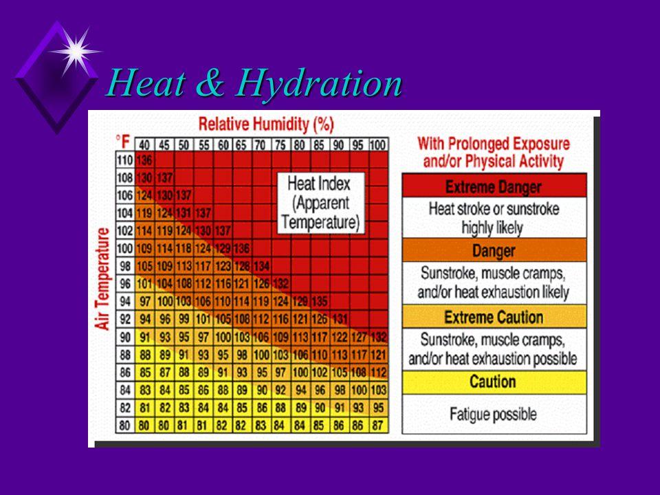 Heat & Hydration