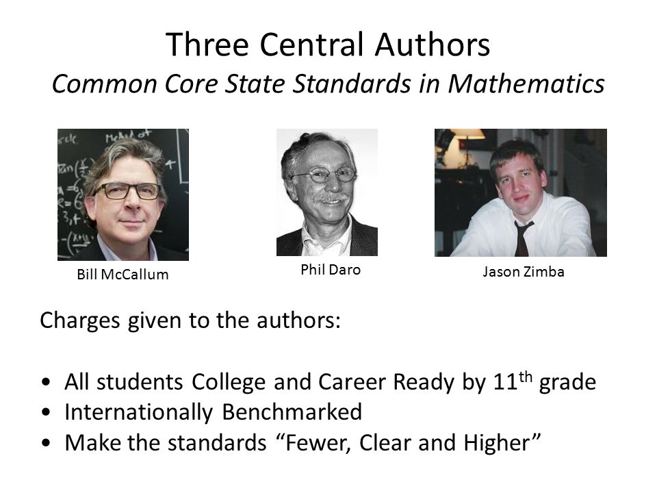 CCSS Mathematical Practices OVERARCHING HABITS OF MIND 1.