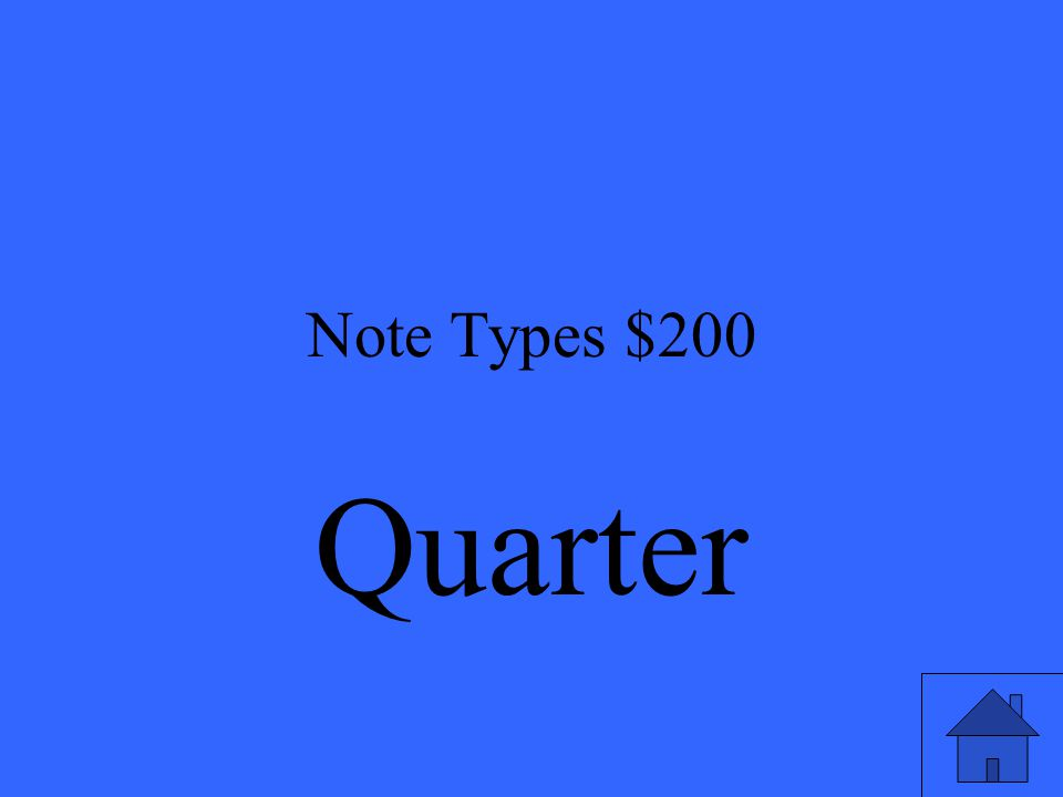 Note Types $200