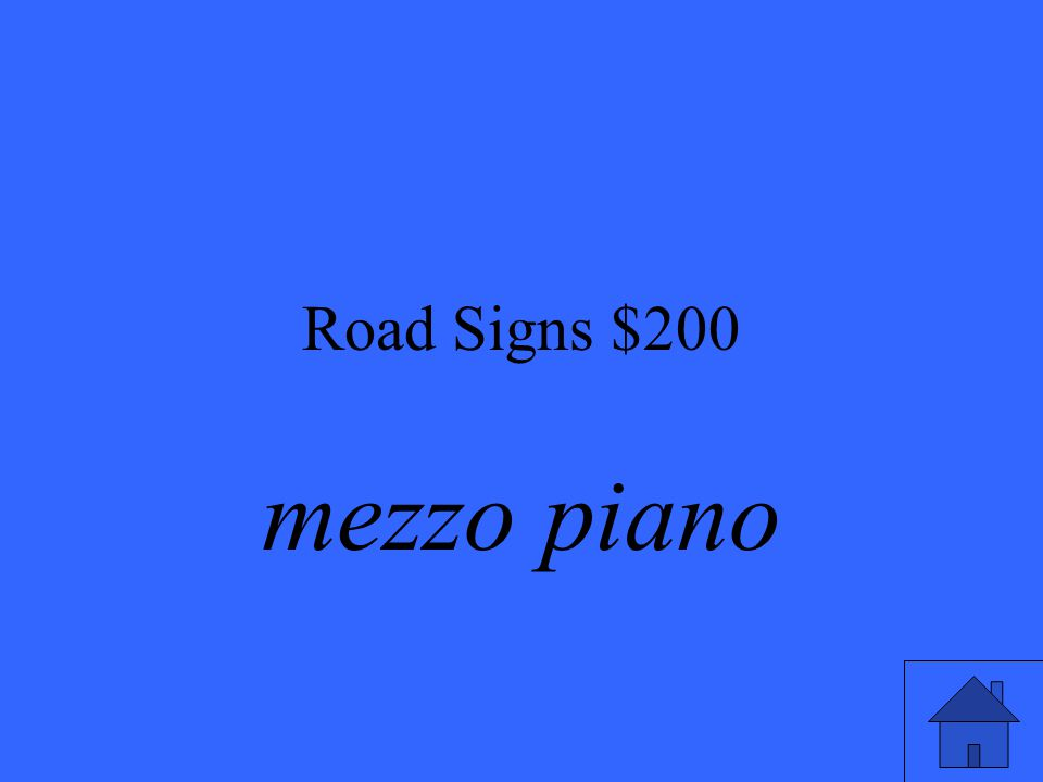 Road Signs $200