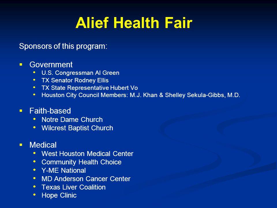 Sponsors of this program:   Government U.S.