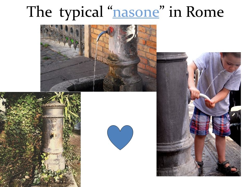 """The typical """"nasone"""" in Rome"""