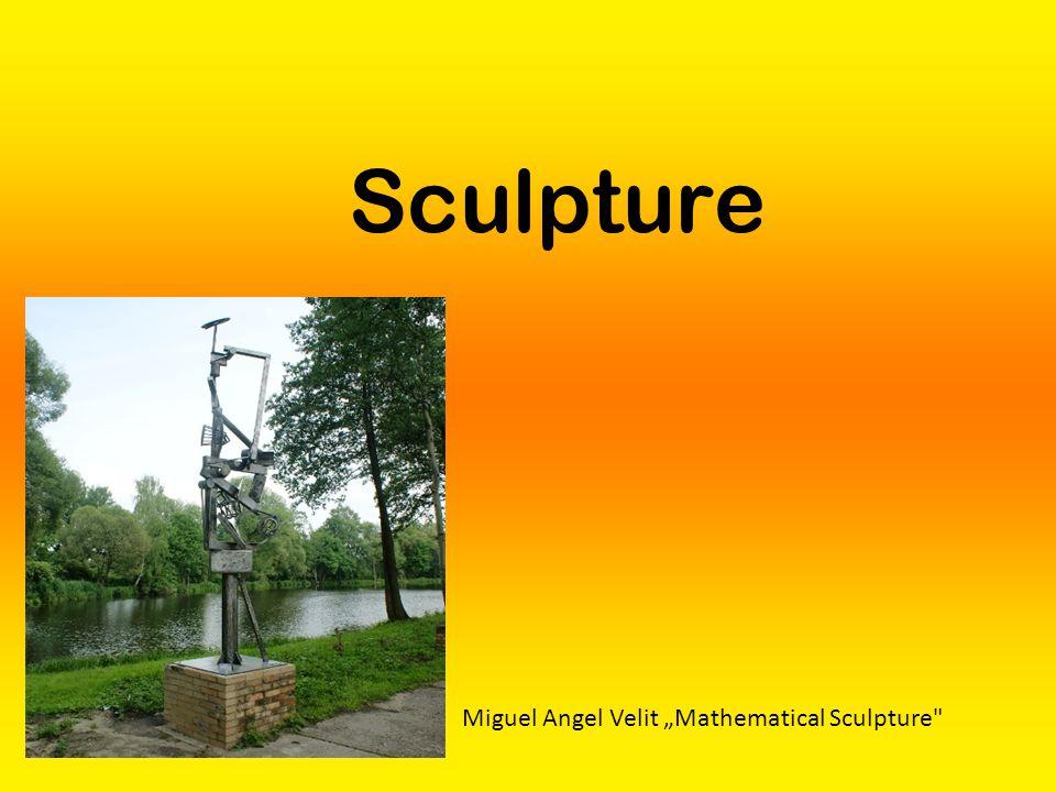 "Sculpture Miguel Angel Velit ""Mathematical Sculpture"
