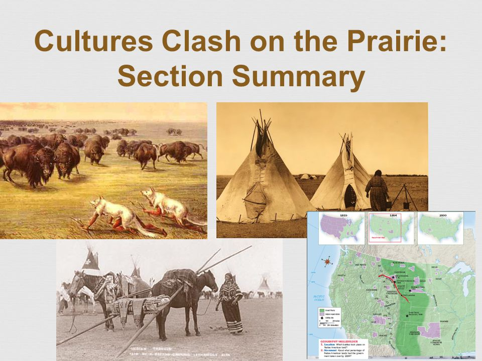 Cultures Clash on the Prairie: Section Summary