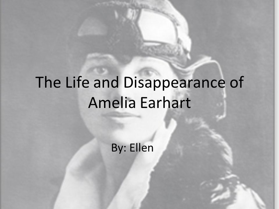 Amelia Earhart was born on July 24, 1897.She was born in Atchison, Kansas.