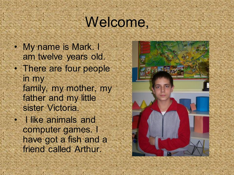 Welcome, My name is Mateusz. My favourite colours are orange and red.