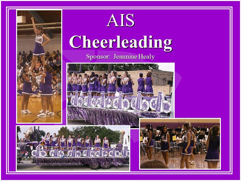 AIS Cheerleading Sponsor: Jeannine Healy