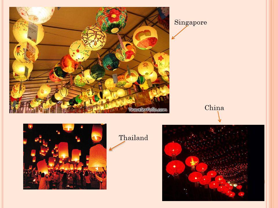 Singapore Thailand China