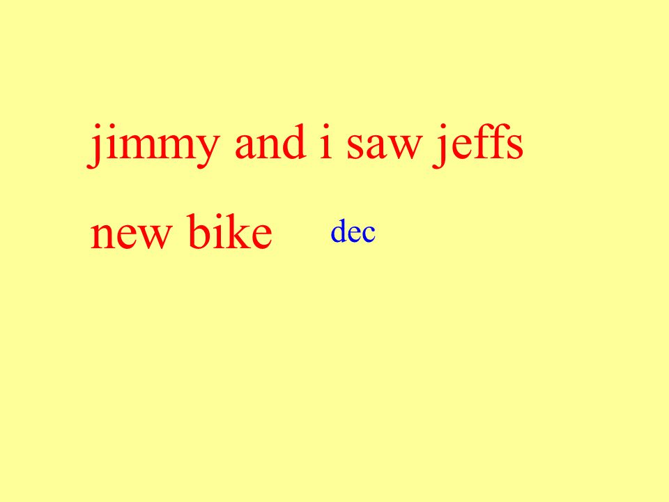 jimmy and i saw jeffs new bike dec
