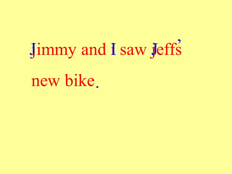 jimmy and i saw jeffs new bike JIJ '.
