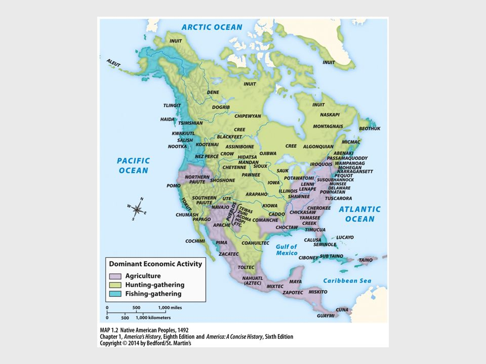 I.The Native American Experience C. Chiefdoms and Confederacies 1.