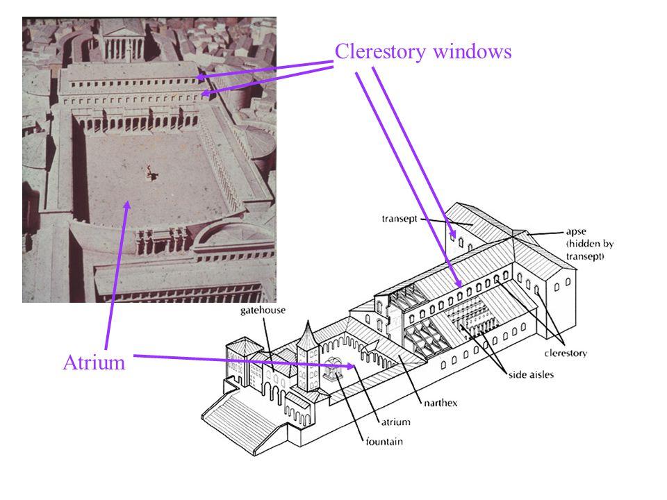 Clerestory windows Atrium