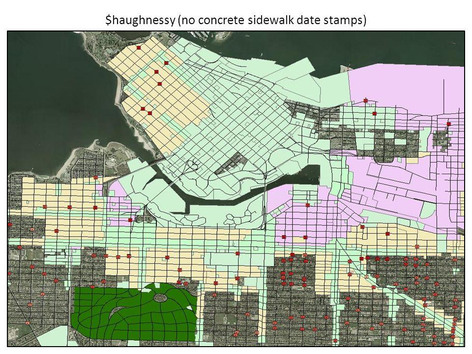 $haughnessy (no concrete sidewalk date stamps)