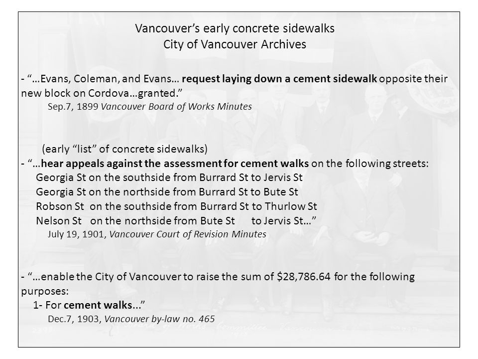 Vancouver Court of Revision Minutes, April 18, 1904