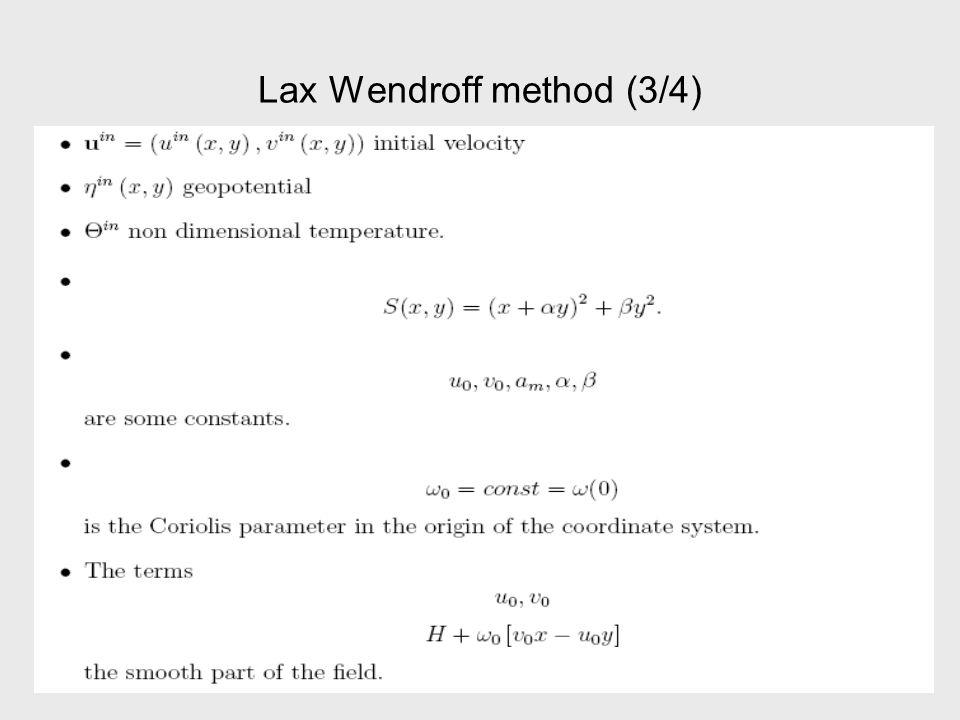 Lax-Wendroff Method (4/4)
