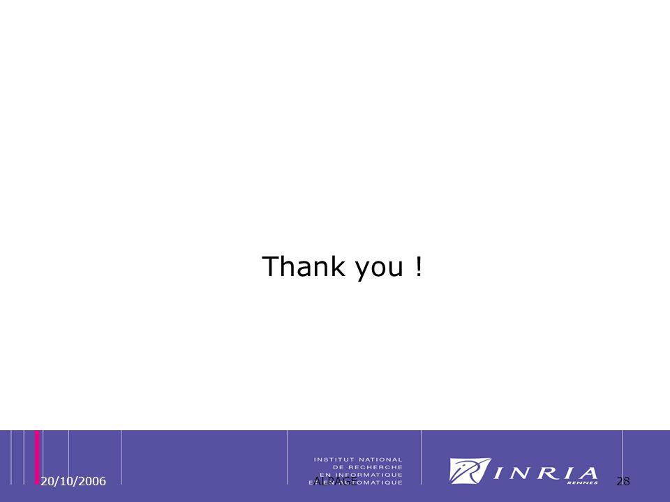 20/10/2006ALPAGE28 Thank you !