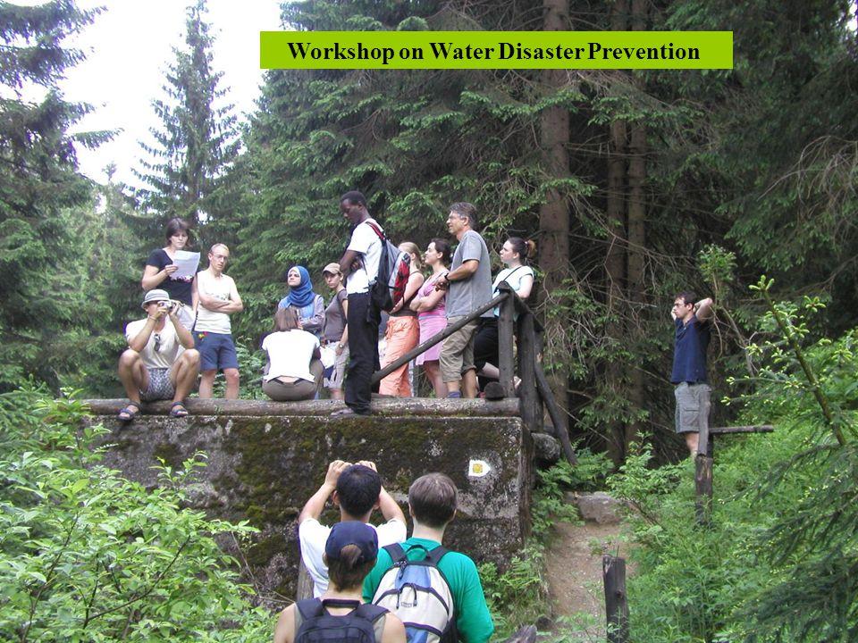 Workshop on Water Disaster Prevention