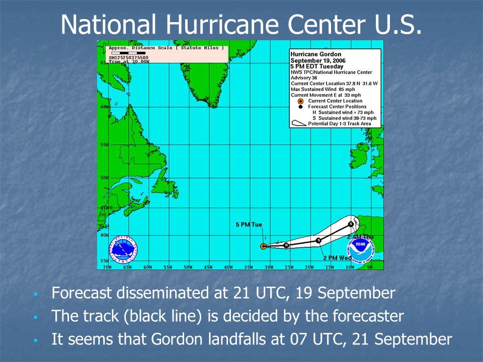 National Hurricane Center U.S.