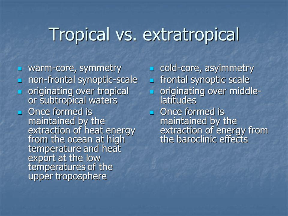 Tropical vs.