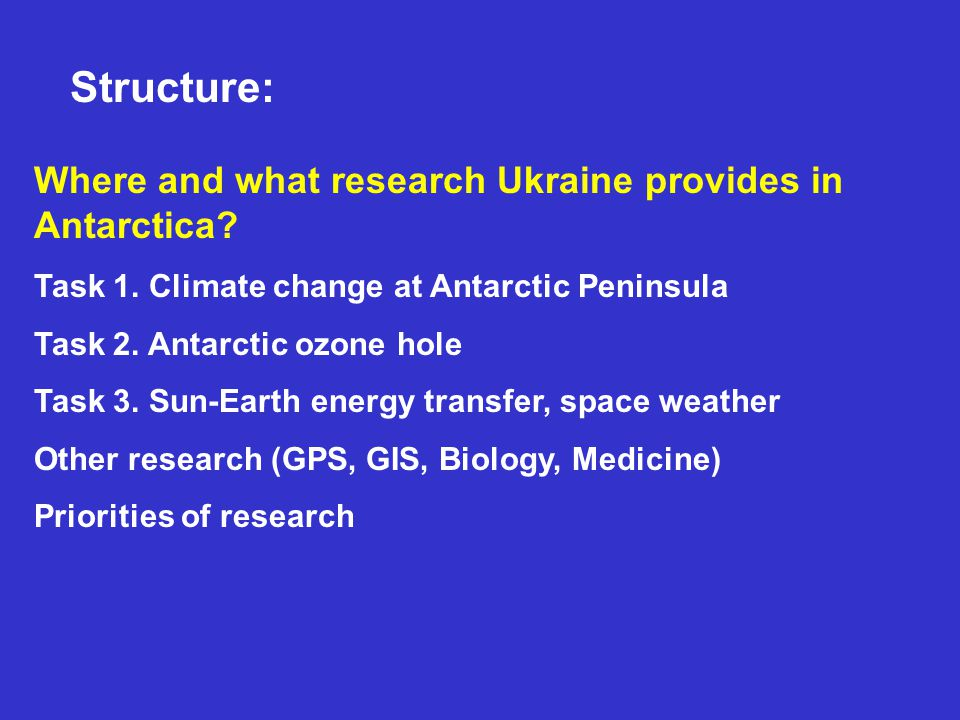 Where and what research Ukraine provides in Antarctica.