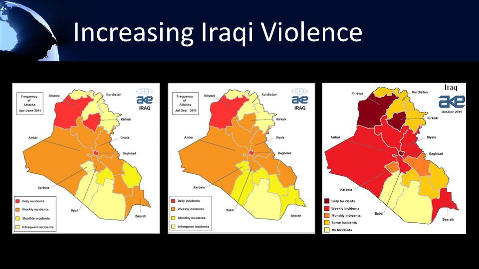 Increasing Iraqi Violence